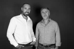 Davy Tessier et Mickael Lellouche